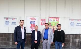 Vantb'den enflasyonla topyekün mücadele kampanyasına tam destek