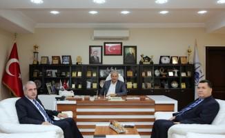 Vergi Dairesi Başkanı Çelik'ten, Başkan Dişli'ye ziyaret