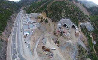 Yeni Zigana Tüneli'nde havalandırma şaftları imalatı tünel çalışmalarını yavaşlatıyor