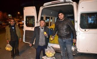 4 ton limon saatler içerisinde satıldı