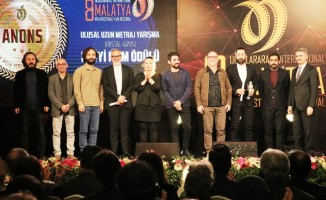 8. Malatya Uluslararası Film Festivali'nde ödüller sahiplerini buldu