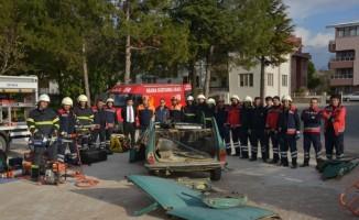 AFAD'dan itfaiye personeline eğitim