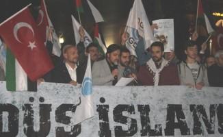 AGD İsrail'i protesto etti