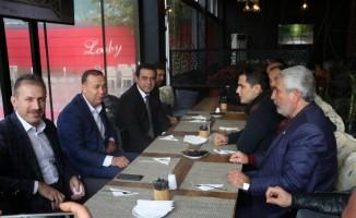 AK Partili Ören'den değerlendirme toplantısı