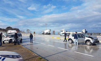 Akçakoca'da trafik kazası: 4 yaralı
