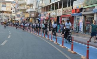 Aliağa'da bisiklet yolu genişliyor
