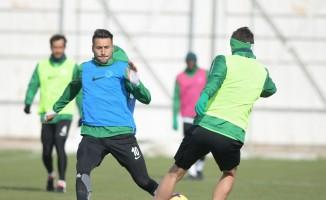 Atiker Konyaspor, Galatasaray hazırlıklarını sürdürüyor