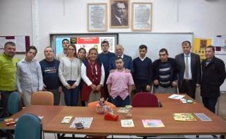 Başkan Eşkinat çevreci özel öğrencilerle buluştu