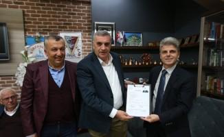 Başkan Toçoğlu Trabzonlular derneğinin üyesi oldu