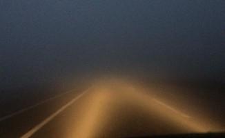 Bingöl-Elazığ yolunda görüş mesafesi 5 metreye kadar düştü
