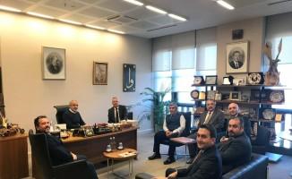 Cumhurbaşkanı Başdanışmanı Topçu, TURYOLDER üyelerini kabul etti