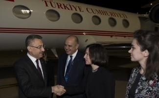 Cumhurbaşkanı Yardımcısı Oktay İtalya'ya geldi