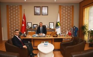 Dekan Pirinççi'den Başkan Taban'a ziyareti