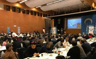Doğu Türkistan Cumhuriyeti'nin kuruluş yıl dönümü Stockholm'de kutlandı