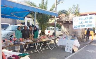 Edremit'te kermes geliri okula kütüphane olacak