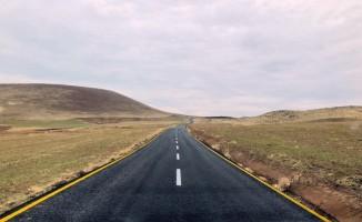 Erciş'in yolları yenilendi