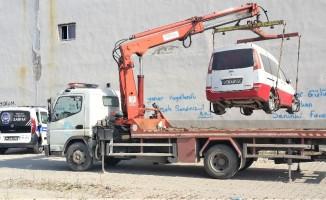 Erenler' hurda araç temizliği aralıksız devam ediyor