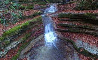 Erfelek Tatlıca Şelaleleri, sonbaharda bir başka güzel