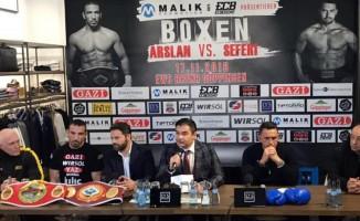 Fırat Arslan'ın dünya şampiyonluk maçı için geri sayım başladı