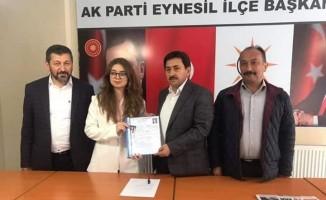 Giresun'da Belediye Başkanlığı için en genç aday adayları kadınlardan oluştu