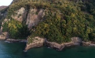 Güzelcehisar lav sütunlarını 5 ayda 50 bin turist ziyaret etti