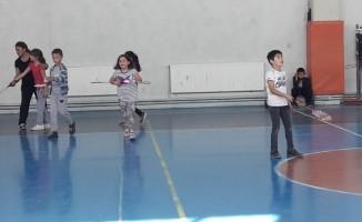 Hisarcık'ta Badminton Kursu