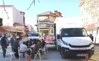 Hisarcık'ta diyabet ve Koah günü farkındalık çalışmaları