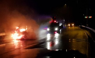 Karadeniz sahil yolunda kaza: 4 yaralı
