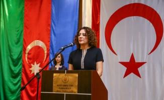 KKTC'nin 35. kuruluş yıl dönümü Bakü'de kutlandı