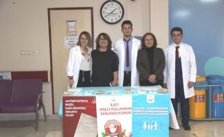 Kütahya'da 'Akıllı Antibiyotik Kullanımı' etkinliği