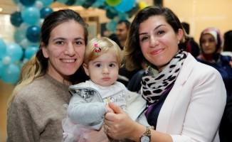 Medicana Kadıköy'de doğan bebekler 1. yaşlarını kutladı