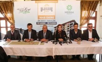 Meram Belediyesi Uluırmak Evleri projesini hayata geçirdi