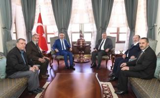 MHP'den Vali Soytürk'e hayırlı olsun ziyareti