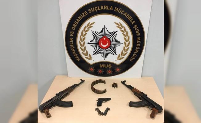 Muş'ta silah ticareti operasyonu