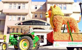 Narenciye Festivali Tanıtım Korteji Akdeniz'de
