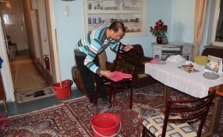 Nazilli Belediyesi 1417 vatandaşın evini temizledi