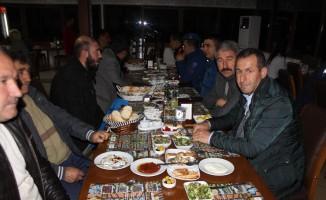Osmaneli İlçe Jandarma Komutanı Demirpehlivan'a veda yemeği