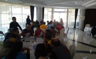 """Rize'de """"Hastane Afet Planı"""" eğitimi düzenlendi"""