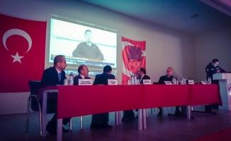 Seyitgazi'de başlatılan bağımlılıkla mücadele panellerinin ilki Kırka'da düzenlendi