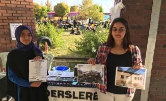 Siyah beyazlı SDÜ'lülerden eğitime destek kampanyası