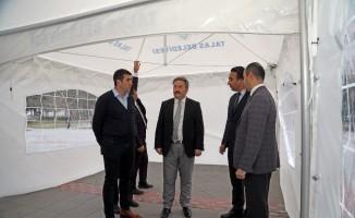 Talas'a yeni modern çok amaçlı çadırlar