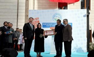 Talas'ta Nuri Efendi Cami tanıtıldı
