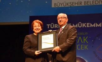 Tekirdağ Büyükşehir Belediyesinin mükemmellik yolculuğuna 4 yıldız