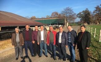 Tekirdağ DSYB üyeleri Almanya'da Eurotier'a katıldı