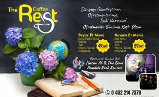 The Rest Coffee 'Öğretmenler Günü'ne hazır