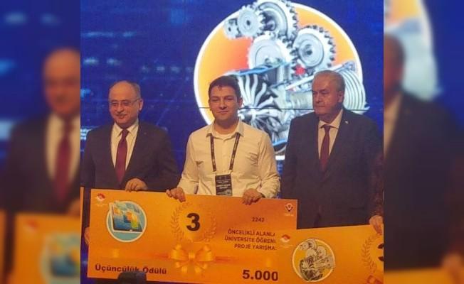 TÜBİTAK Proje Yarışması'nda Türkiye finaline Zonguldaklı Ahmet Burak kaldı