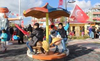 Tuşba Altıntepe mahalle parkı hizmete açıldı