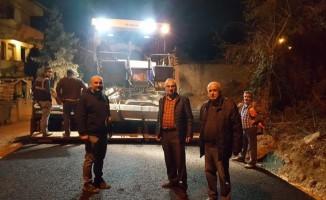 Uzunkum Mahallesi'ne 935 ton asfalt atıldı