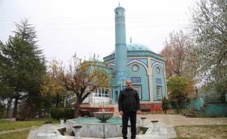 Vali, Çinili Camii'ne hayran kaldı