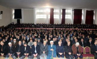 2 bin kişinin katılımıyla barış töreni düzenlendi